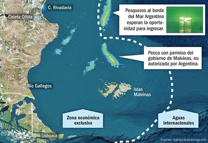 pesca ilegal -en-malvinas - Fte. LU17