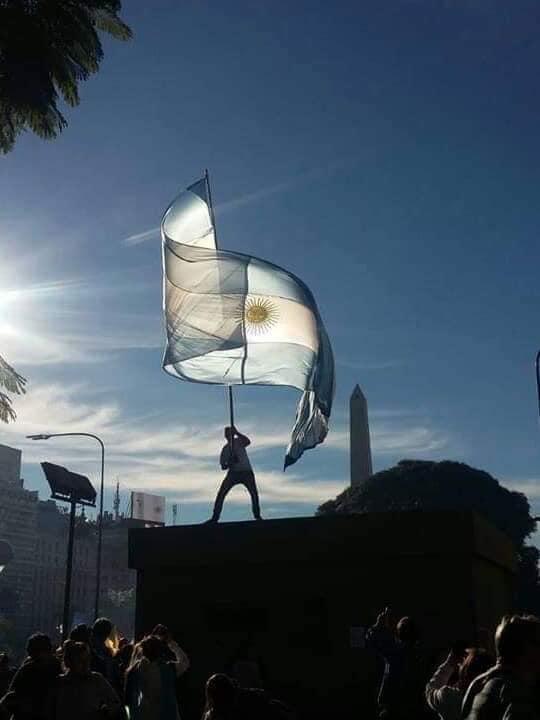 Bandera Argentina - Fte. Web Dani SB