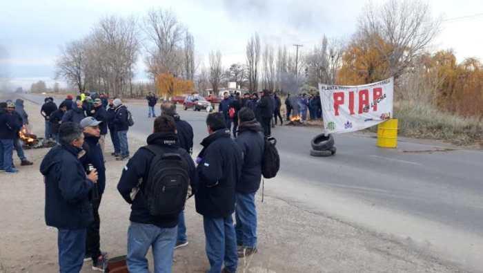 PIAP Protesta - Fte. D.Río Negro